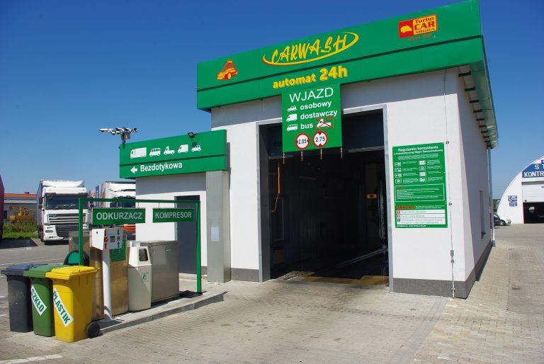 myjnia samochodowa Łowicz