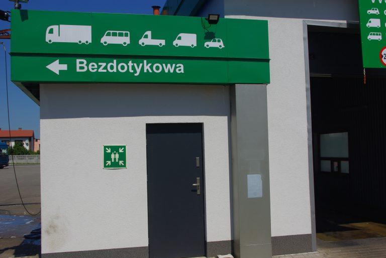 myjnia bezdotykowa w Łowiczu
