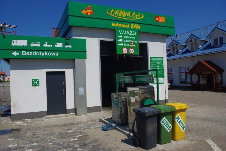 myjnia dla samochodów w Łowiczu
