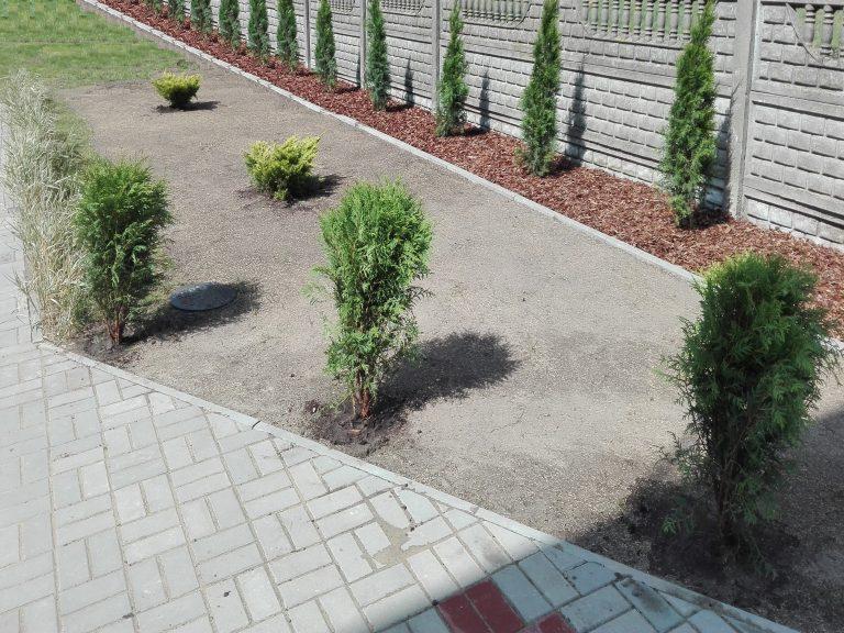 ogród zajazd przy starej 2 Łowicz