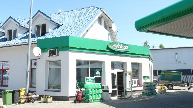 stacja paliw bp Łowicz sklep