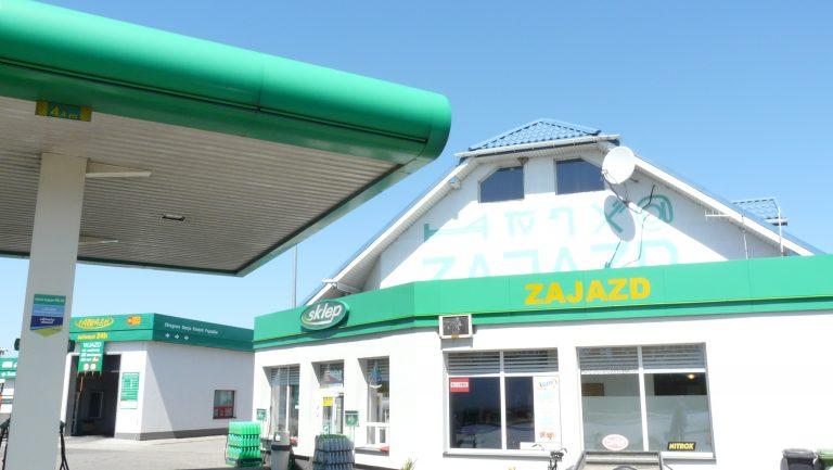stacja paliw bp Łowicz